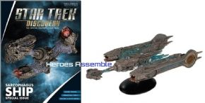 Star Trek Official Starships Collection Mega Special Klingon Sarcophagus Discovery Eaglemoss